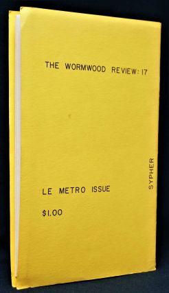 Cafe Le Metro Issue: The Wormwood Review, Vol. 5, No. 1, Issue 17