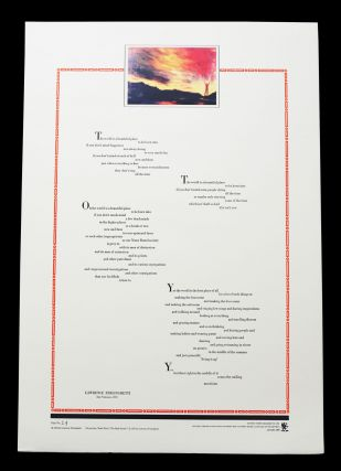 "Untitled Broadside (""The world is a beautiful place"""