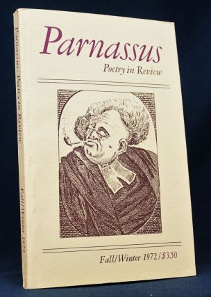 Parnassus: Poetry in Review Vol. 1 No. 1 (Fall/Winter 1972)