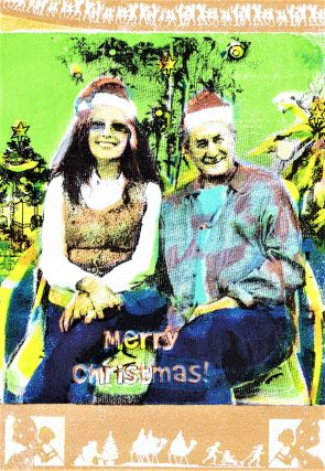 The Cafe Review Vol. 22 (Fall 2011) with: Christmas Greeting Card from Robert & Michele Branaman to Charles & Pamela Plymell
