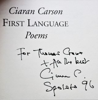 First Language: Poems
