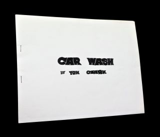 Car Wash with: Ephemera