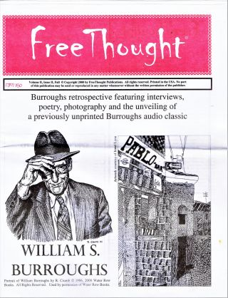 FreeThought Vol. II Issue II (Fall 2000) with: FreeThought Flyer No. 2