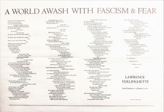 A World Awash with Fascism & Fear