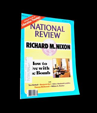 National Review Vol. XXXVII No. 18 (September 20, 1985) with: TIME Vol. 143 No. 18 (May 2, 1994) with: U.S. News & World Report Vol. 116 No. 17 (May 2, 1994)