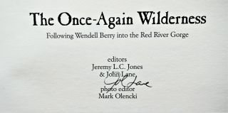 The Once-Again Wilderness: Following Wendell Berry into the Red River Gorge
