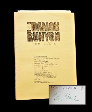 The World of Damon Runyon (Two Editions + Ephemera)