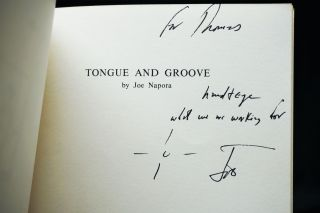 Tongue and Groove, Poems