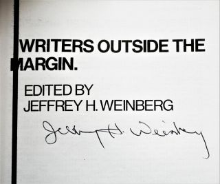 Writers Outside the Margin: An Anthology (Two Editions)