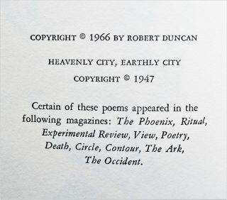 The Years As Catches: First poems (1939-1946)