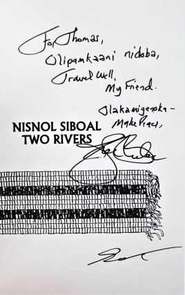 Nisnol Siboal/ Two Rivers: Poems in English and Abenaki