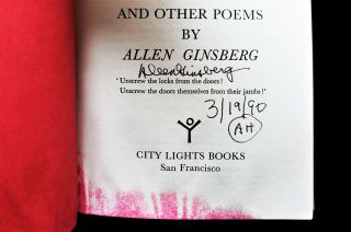 An Allen Ginsberg Bundle: Howl and Other Poems, with: Kaddish and Other Poems, with: Mind Breaths: Poems 1972-1977
