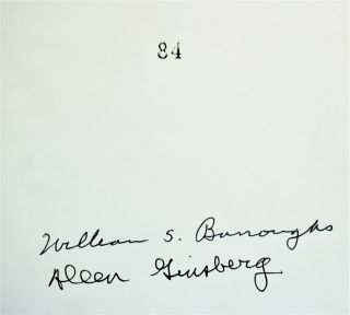 """Letters to Allen Ginsberg: 1953-1957 (The Signed & Numbered Limited Edition of 1982, with: First Trade Edition Softcover """"Reading Copy"""")."""