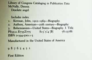 Desolate Angel: Jack Kerouac, the Beat Generation, and America with: The Kerouac We Knew