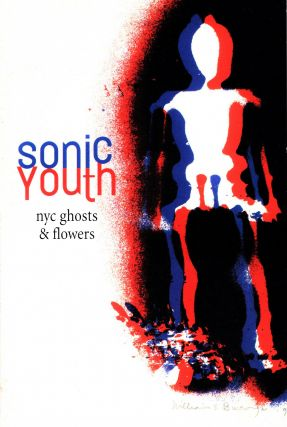 """Sonic Youth """"Ghosts & Flowers"""" LP Record with: Postcard"""