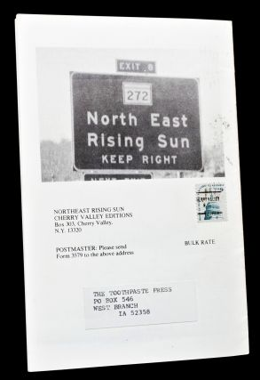 Northeast Rising Sun Vol. 4 No. 16 with: Vol. 4 No. 17 (Two Copies) with: Vol. 4 No. 18