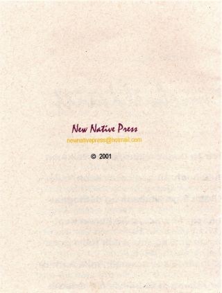 New Native Press Broadside Collection