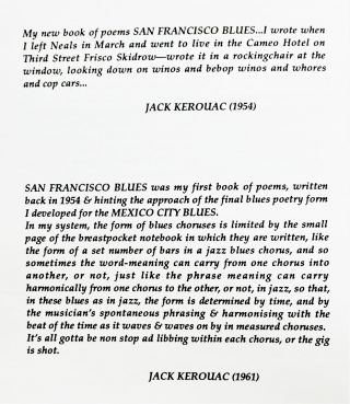 San Francisco Blues (Two Editions)