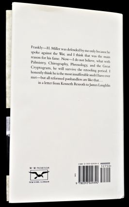 Kenneth Rexroth and James Laughlin: Selected Letters