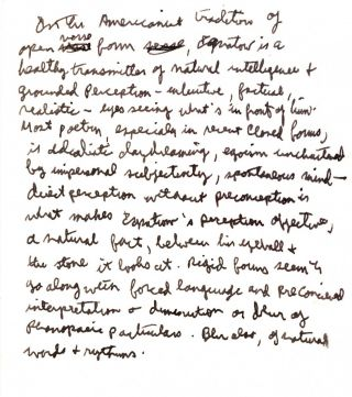 The One in the many: A Poet's Memoirs with: Handwritten Manuscript by Allen Ginsberg