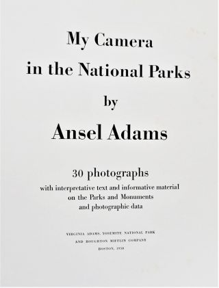 My Camera in the National Parks