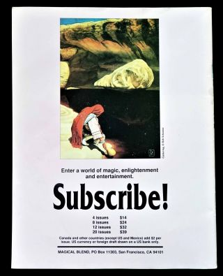 Magical Blend Issue No. 26 (April 1990)